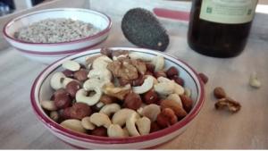 Gesunde Fette: Nussmischung