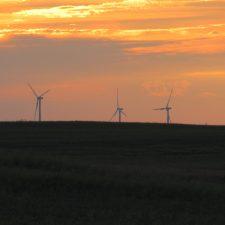 Windkraftwerk in Polen