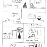 So nicht! Comic von Robert Hantar und Phillip Stropp, 1HKA