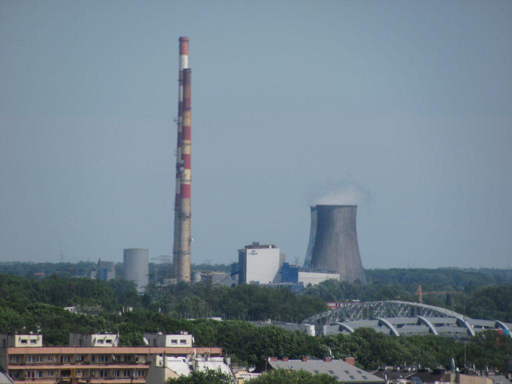 Kalorisches Kraftwerk-Nahe Krakau